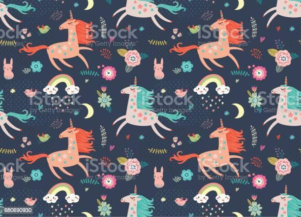 Seamless pattern with unicorns vector id680690930?b=1&k=6&m=680690930&s=612x612&h=w0rmmaxe6c 7t9fzvwhnso8x5sz1oczbx gykuepypi=