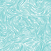istock Seamless pattern with waves 1259916207