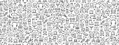 istock Seamless Pattern with Work Safety Icons 1223487548