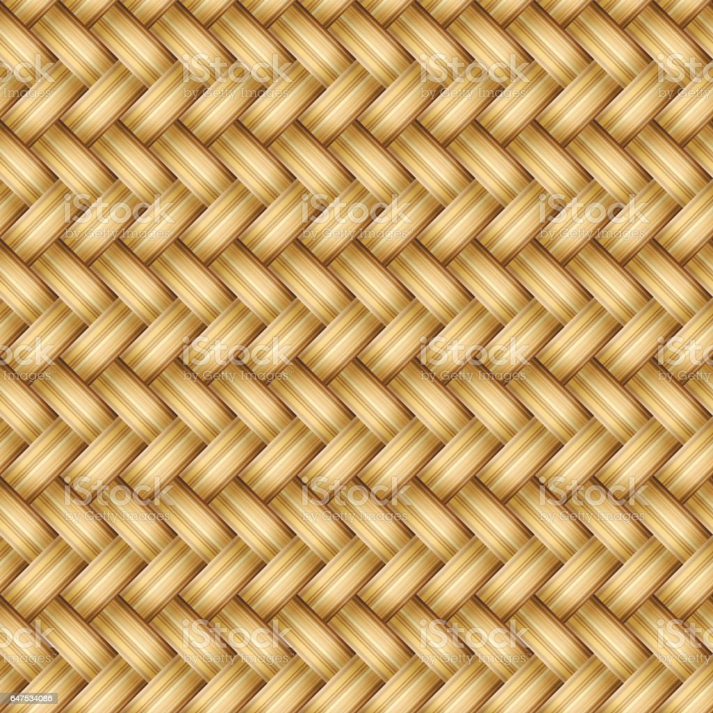 Seamless pattern, woven material. Vector Image. vector art illustration