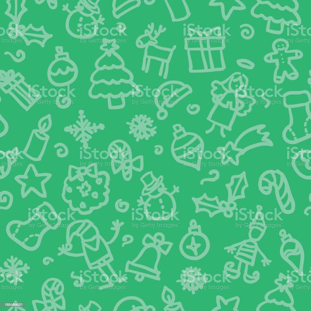 seamless pattern:christmas royalty-free stock vector art