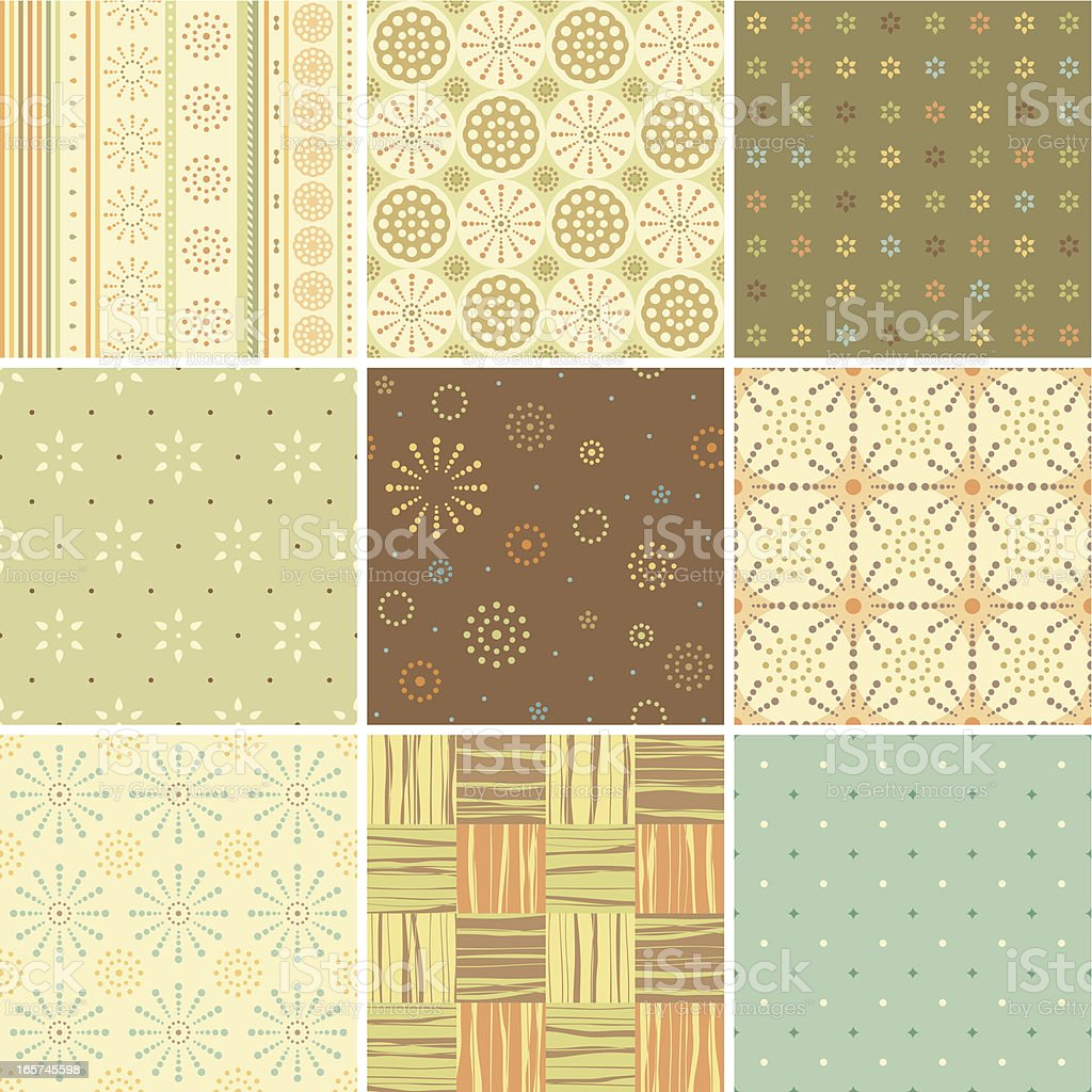 Seamless Patterns Design royalty-free seamless patterns design stock vector art & more images of backgrounds
