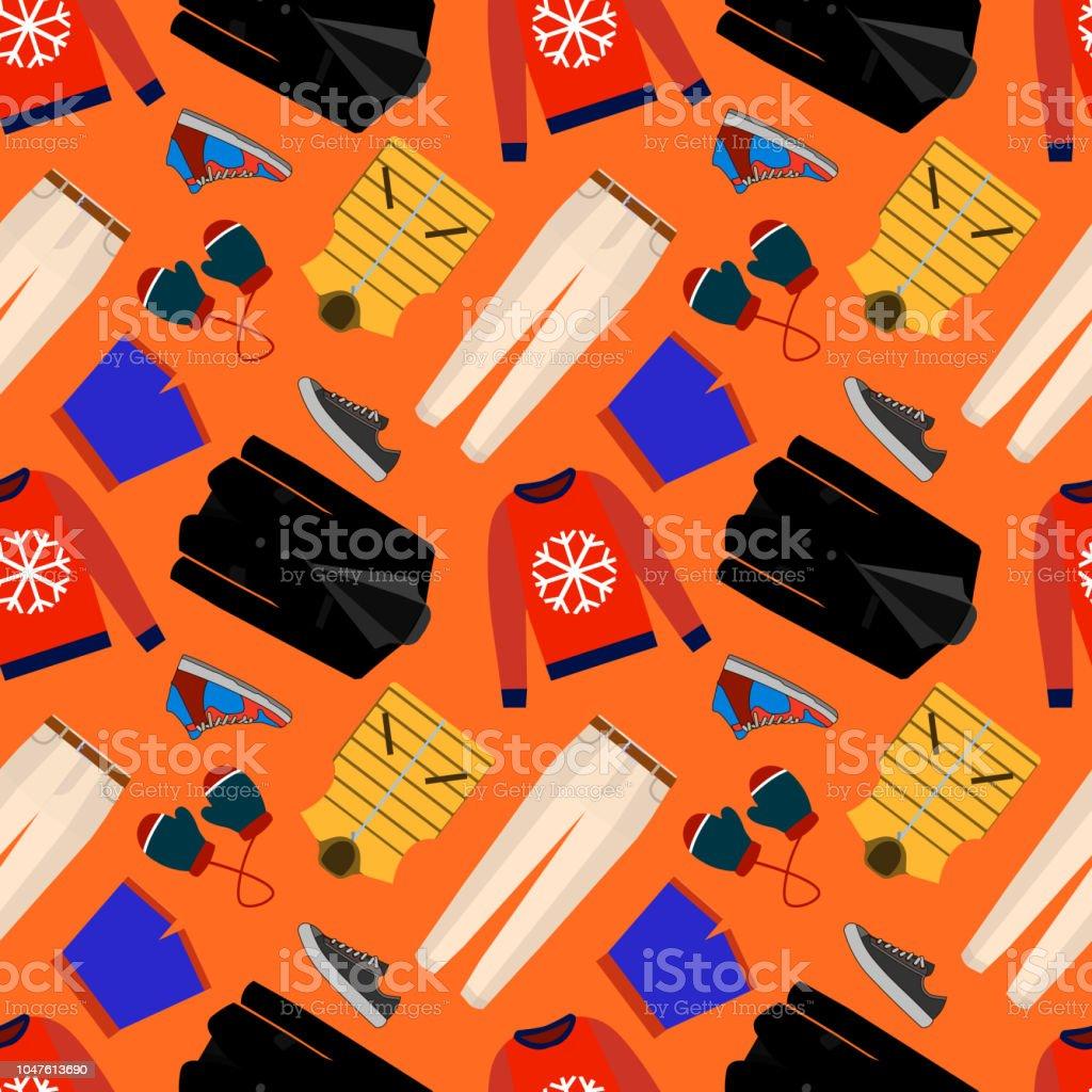 174e6ae0a08 Sin costura patrones de ropa masculina, zapatos y accesorios para tienda  online. Fondos de