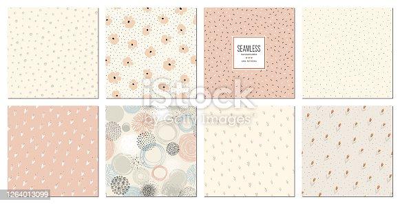 istock Seamless Patterns Set_04 1264013099
