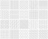 istock Seamless patterns 1311103994