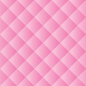 Seamless Pink Padded Background Texture