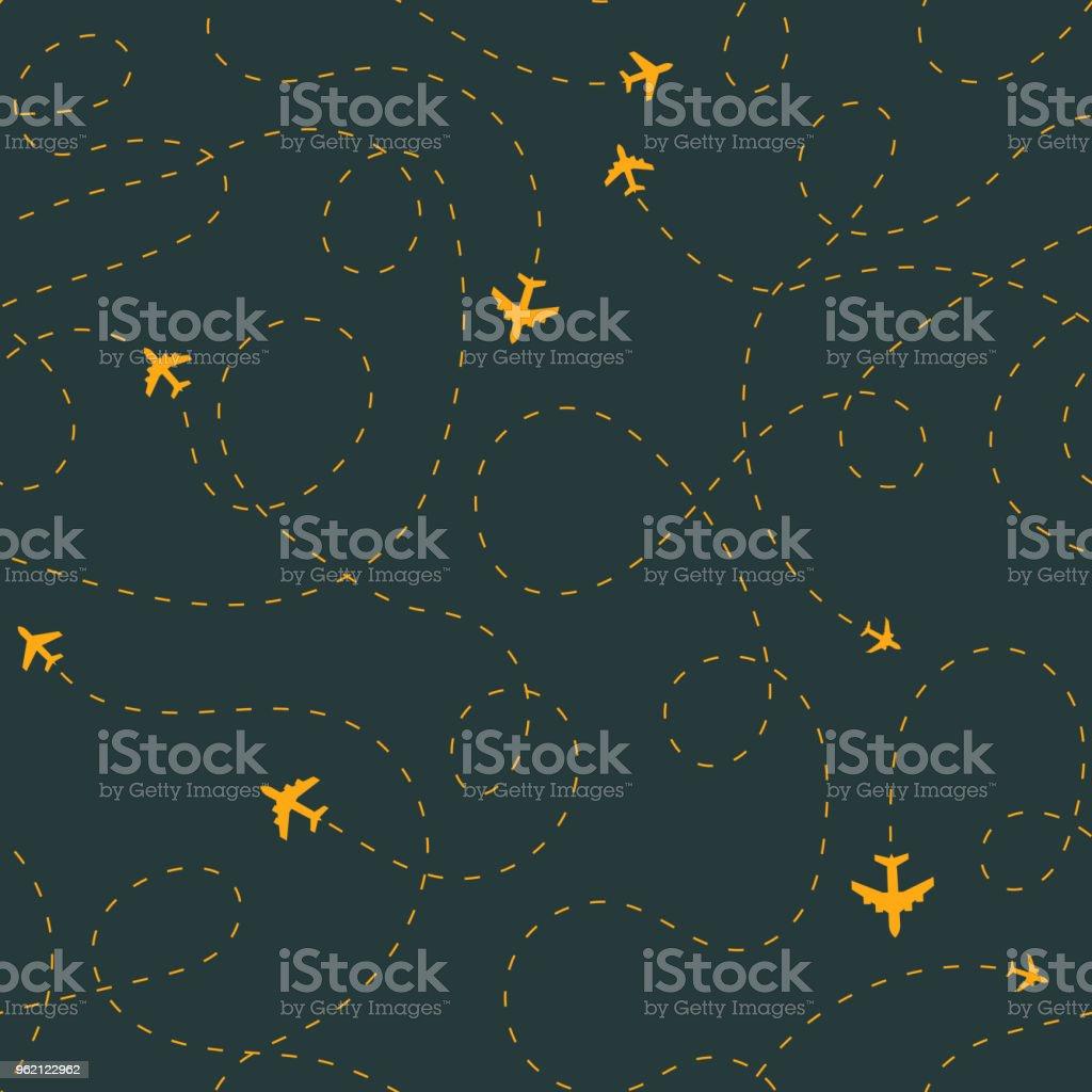 Nahtlose Ebene Strecke patten Lizenzfreies nahtlose ebene strecke patten stock vektor art und mehr bilder von design