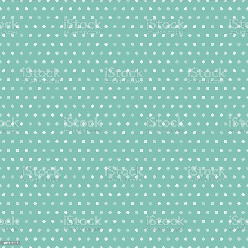 Seamless polka dot background. EPS10. Dots on a separate layer with transparency. Abstract stock vector