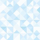 Seamless polygon background pattern - polygonal - blue wallpaper - vector Illustration