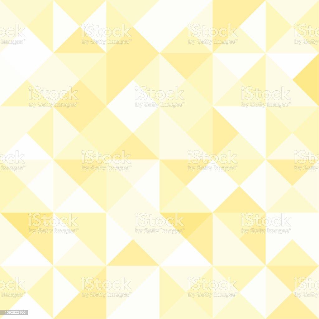 Seamless Polygon Background Pattern Polygonal Gold Wallpaper