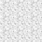 Seamless polygon background pattern - polygonal - gray wallpaper - vector Illustration