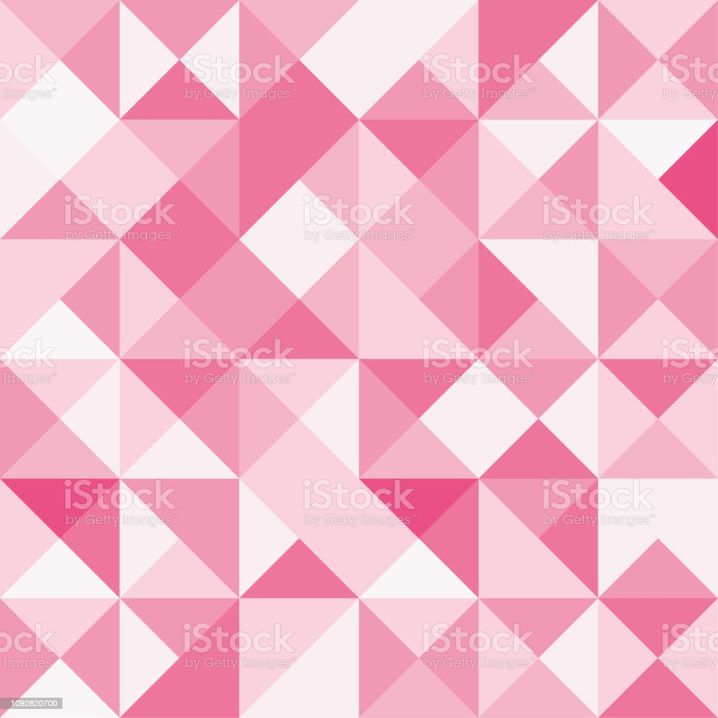 Seamless Polygon Background Pattern Polygonal Red Wallpaper Vector  Illustration Stock Illustration - Download Image Now