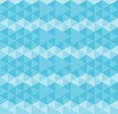 polygonal - blue wallpaper