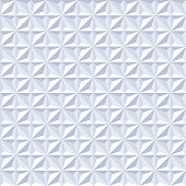 Seamless polyhedral pattern texture background