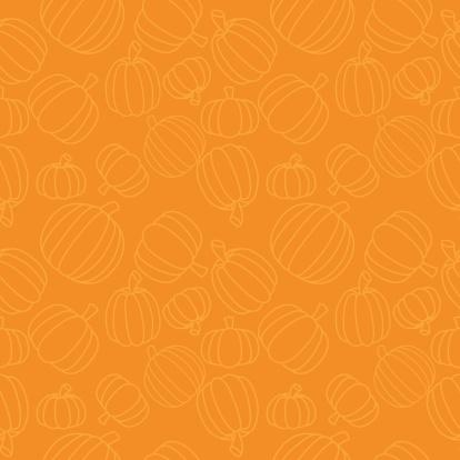 Seamless Pumpkins