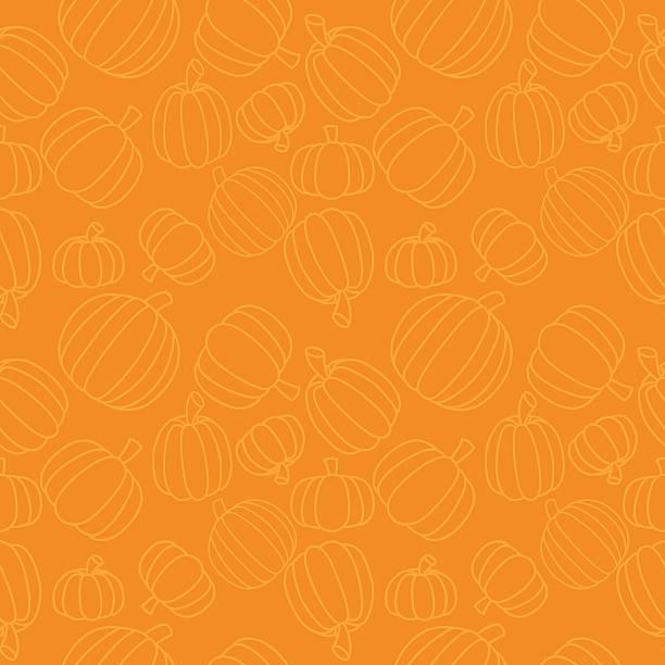 Seamless Pumpkins A seamless vector pumpkin pattern. pumpkin stock illustrations
