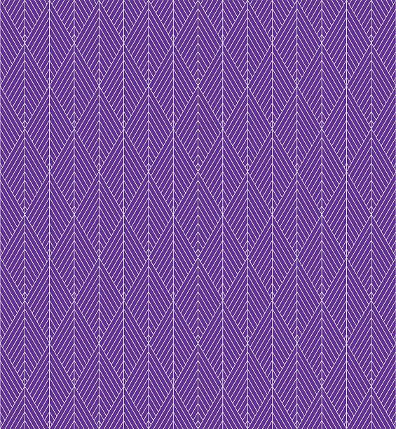 nahtlose lila vektor-fischgrat-muster. - rankgitter stock-grafiken, -clipart, -cartoons und -symbole