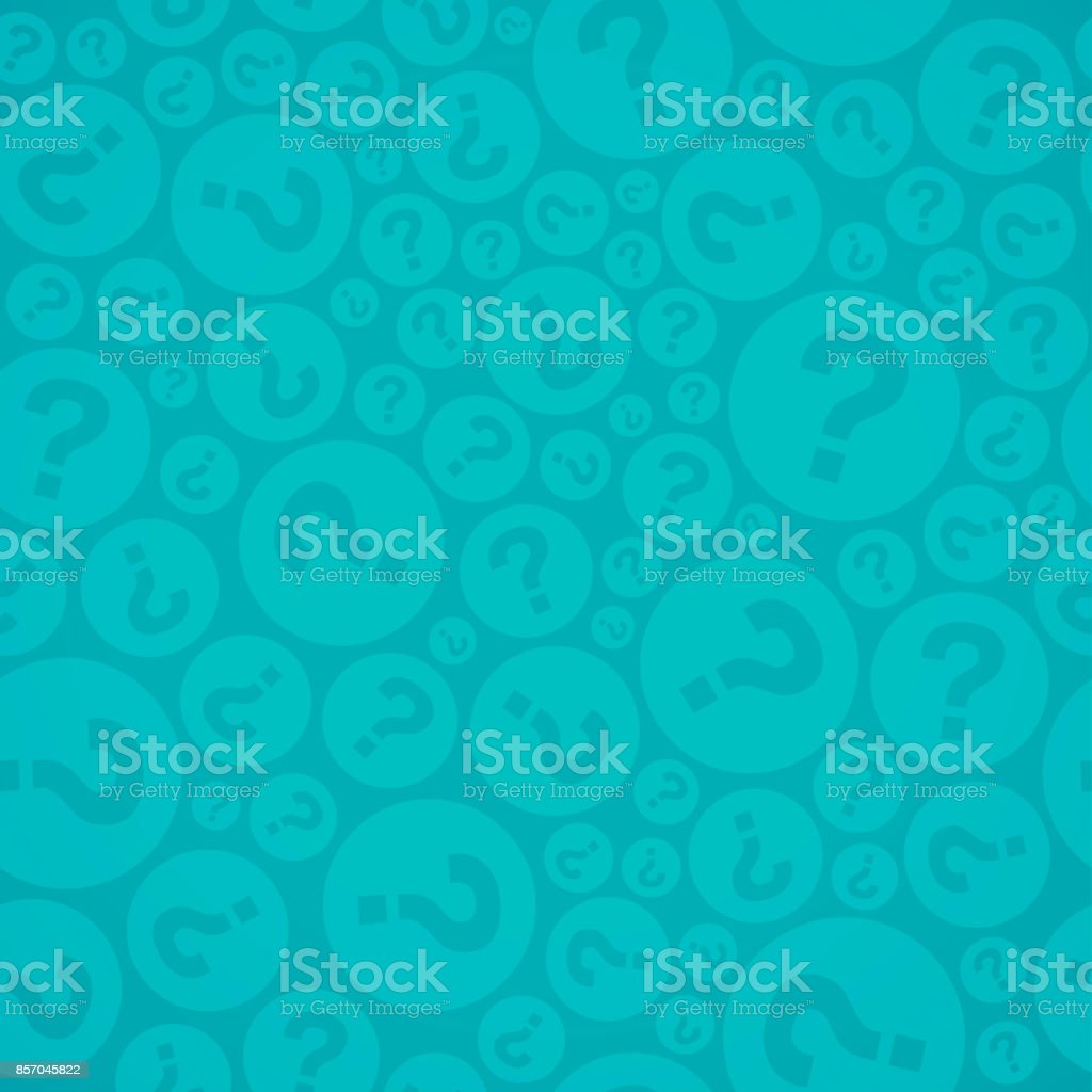 Seamless Question Mark Background