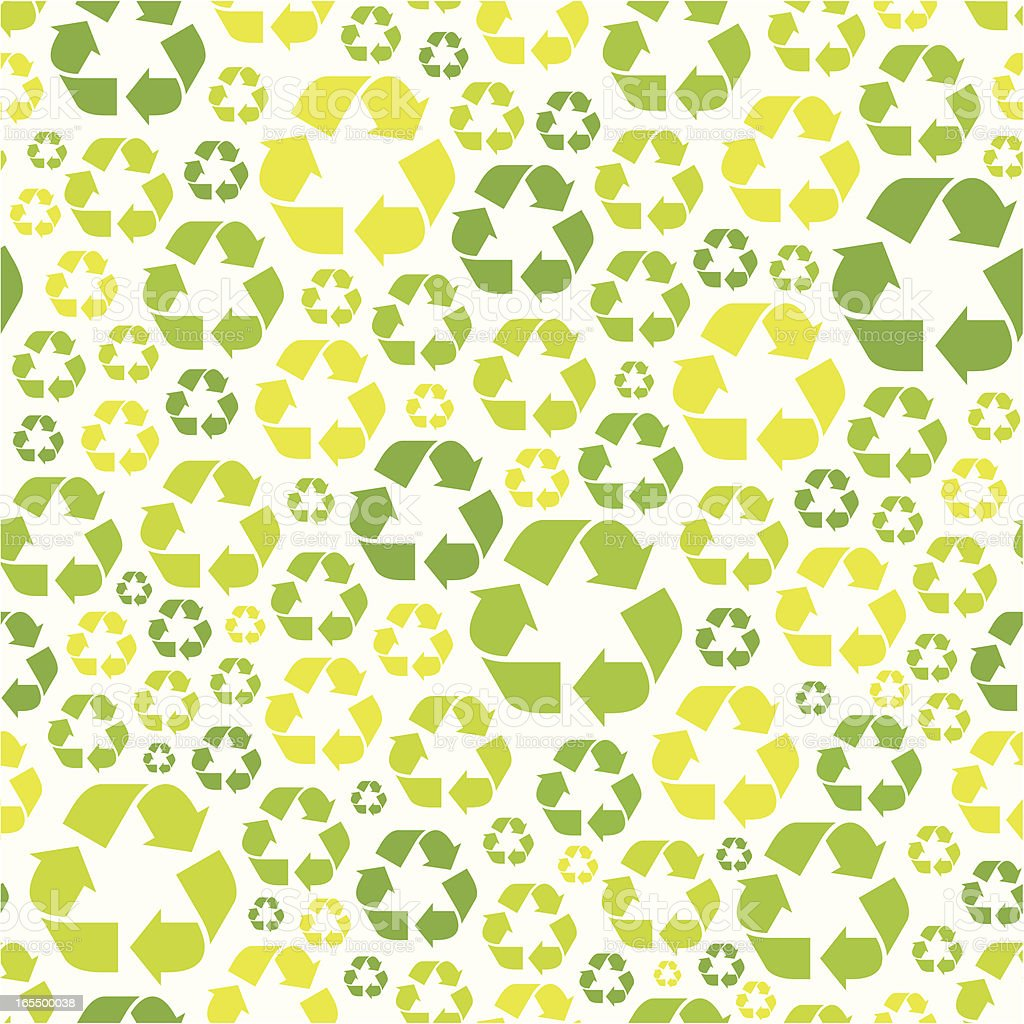 Seamless recycling symbol pattern royalty-free seamless recycling symbol pattern stock vector art & more images of backgrounds
