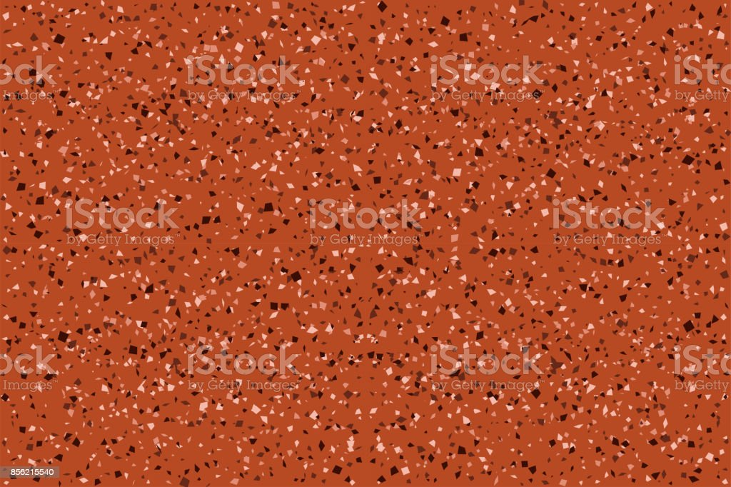 Seamless Red Granite Pattern For Floor And Wall Stock Vector Art
