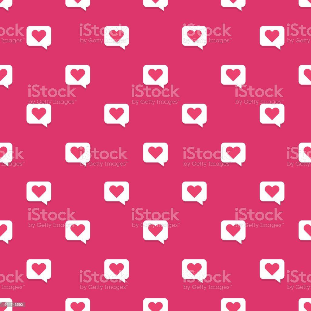 nahtlose rotes herz in rede blase muster lizenzfreies nahtlose rotes herz in rede blase muster - Hochzeitsrede Muster
