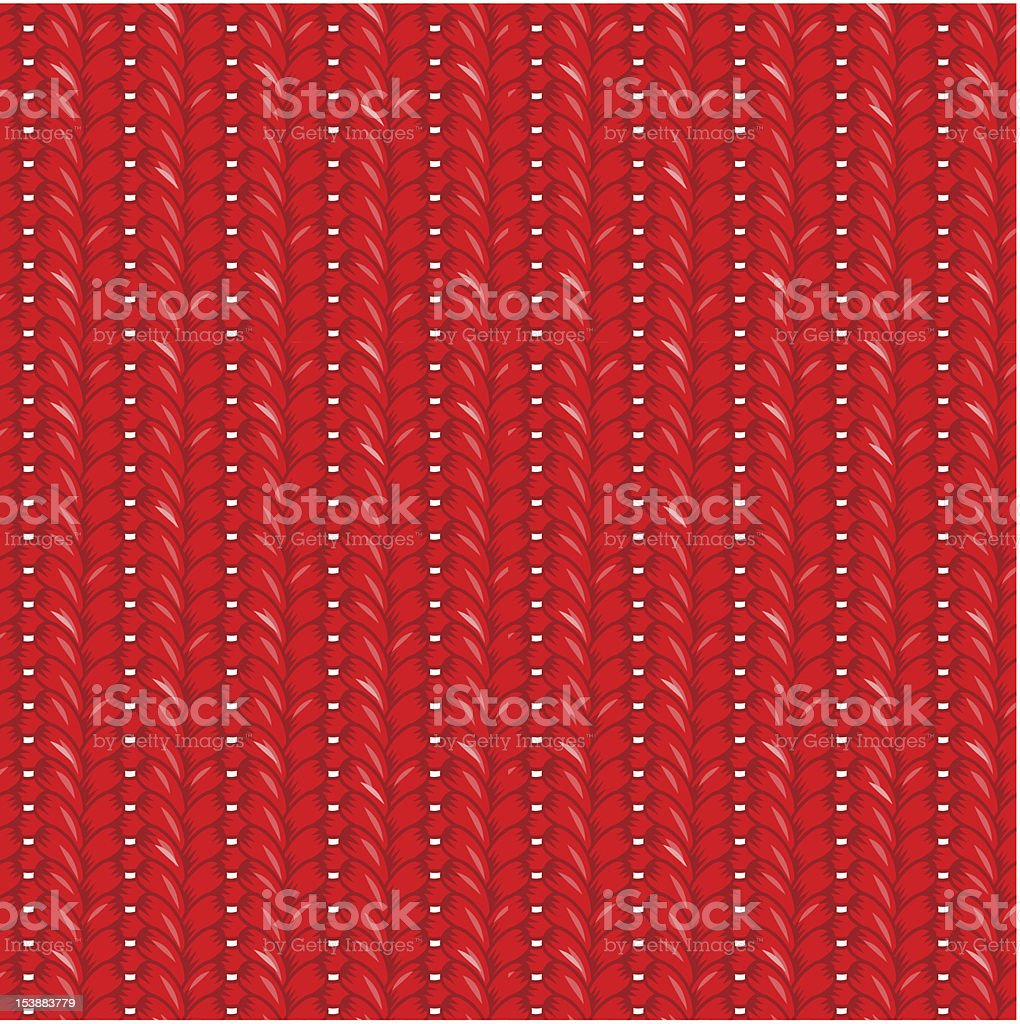 Seamless red knit pattern royalty-free seamless red knit pattern stock vector art & more images of art and craft
