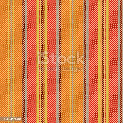 istock Seamless red-yellow wallpaper. 1251357030