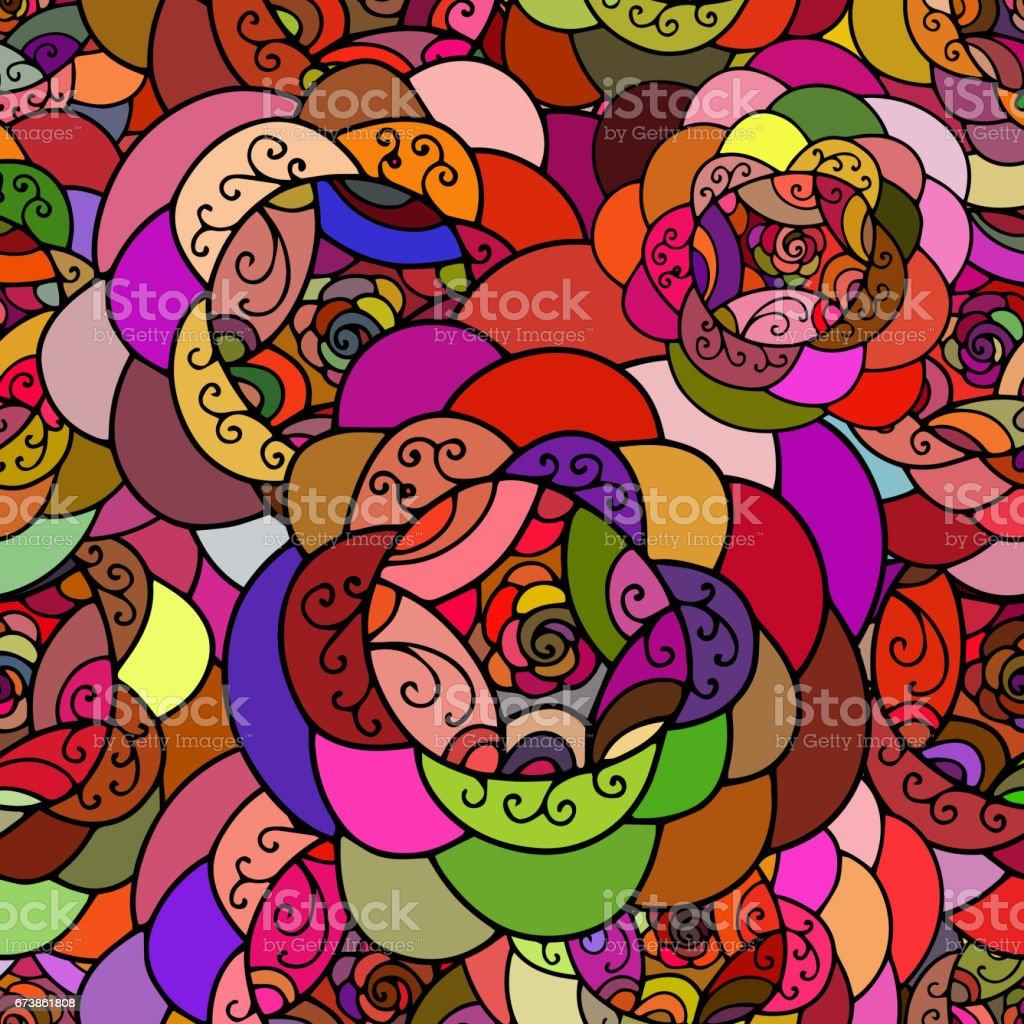 Seamless repeating abstract pattern.Vector royalty-free seamless repeating abstract patternvector stok vektör sanatı & aydınlık'nin daha fazla görseli