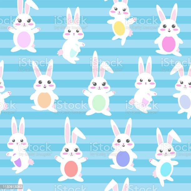 Seamless repeating vector pattern of easter bunnies vector id1132613083?b=1&k=6&m=1132613083&s=612x612&h=cfrp0btphho 9a ekgpsoakhnb5s8ulko90uenc5 fo=