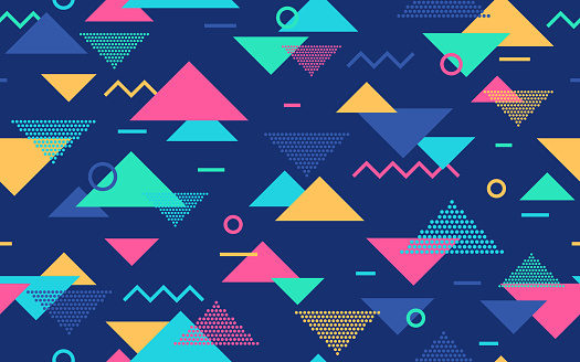 Seamless Retro Abstract Pattern
