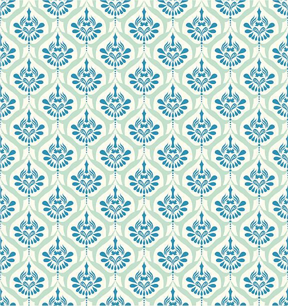 Seamless Retro Background ( Vector ) Original wallpaper. Seamless. svg stock illustrations