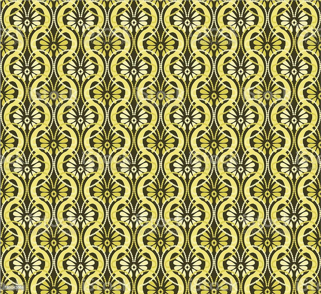 Seamless Retro Motel Wallpaper ( Vector) royalty-free seamless retro motel wallpaper stock vector