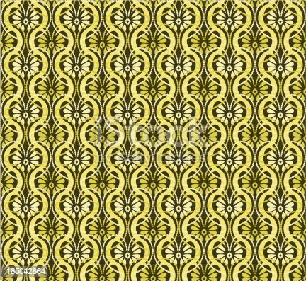 Seamless Retro Motel Wallpaper Stock Vector Art & More Images of Art And Craft | iStock