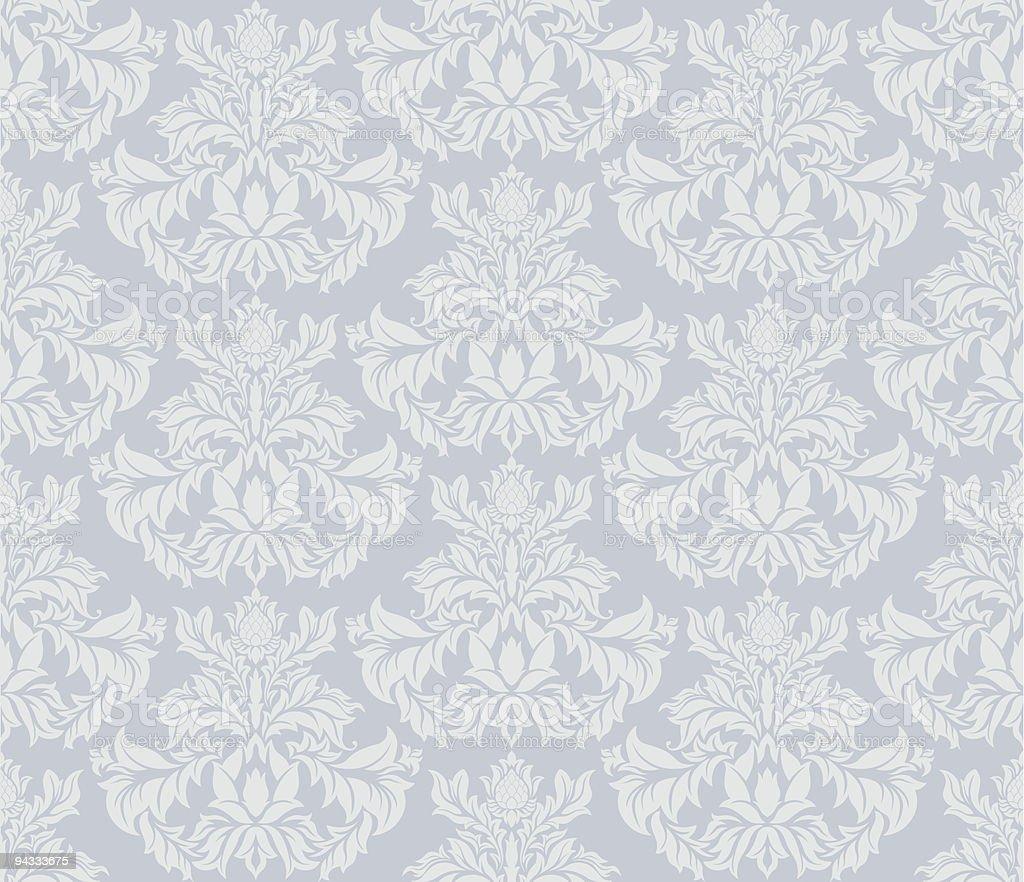 Seamless Retro Wallpaper royalty-free stock vector art