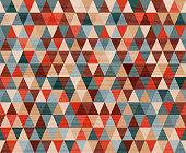 seamless  rhomb wood textured  pattern
