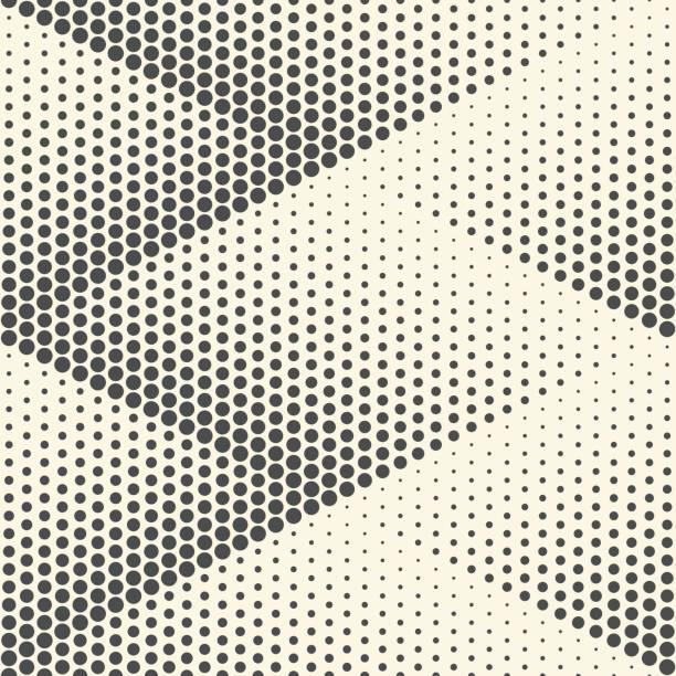 원활한 마름모 배경입니다. 벡터 하프톤 텍스처 - 기하 stock illustrations