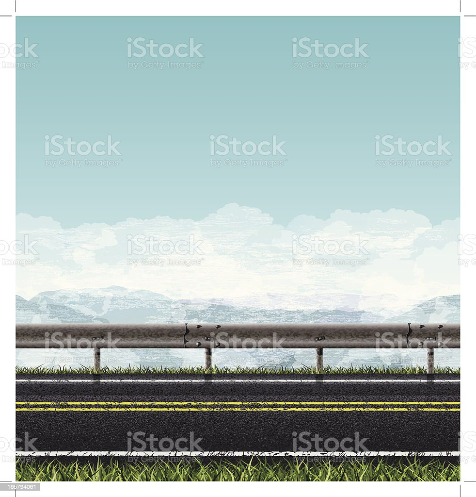 Seamless road banner royalty-free seamless road banner stock vector art & more images of asphalt