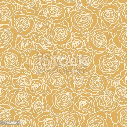 istock Seamless Rose Wallpaper 116936944