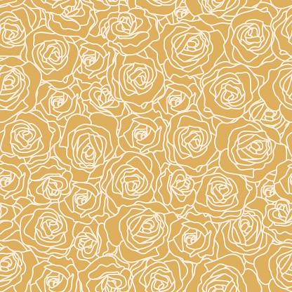 Seamless Rose Wallpaper