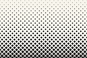 istock Seamless Rounded Squares Halftone Background Design Element 1291528436