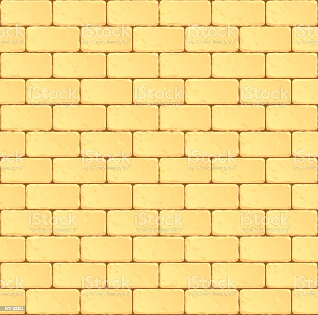 Seamless Sandstone Block Wall Stock Vector Art & More Images of ...