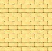 Sandstone block wall. Seamless pattern. Eps10 vector.