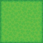 Seamless shamrock clover St. Patrick's Day background. EPS 10 file. Transparency effects used on highlight elements.