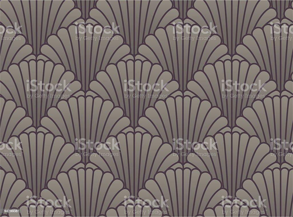 Seamless shell wallpaper royalty-free stock vector art