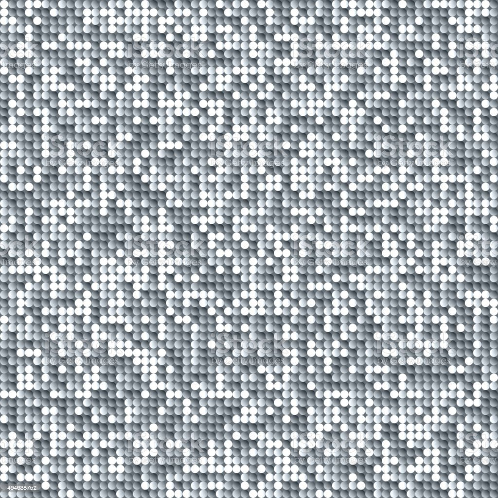 Seamless Shimmer Background With Shiny Paillettes Stock
