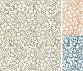 Seamless Sketchy Pattern