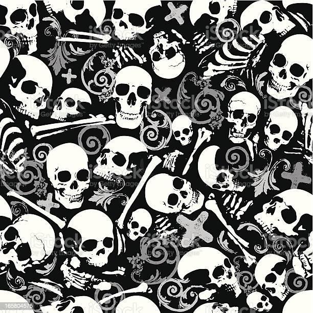 skull wallpaper free vector art 179 free downloads