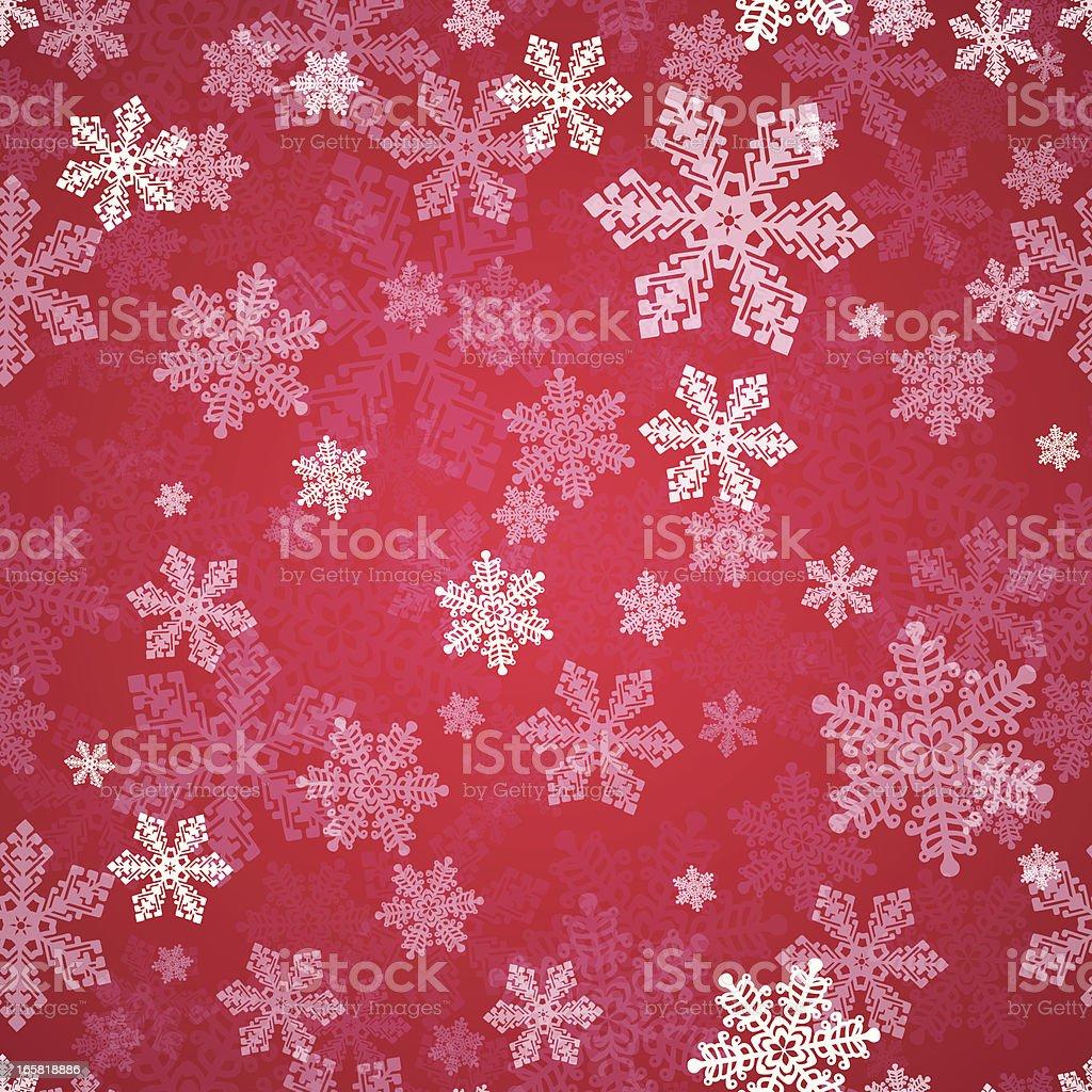 Seamless Snow royalty-free stock vector art