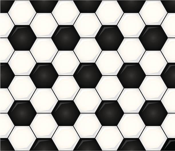 Seamless Soccer Ball Vector Illustration vector art illustration