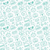 Seamless pattern background vector illustration for sport activities and compositions.